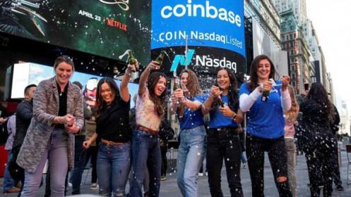 Sàn tiền ảo Coinbase đạt định giá 86 tỷ USD trong phiên chào sàn