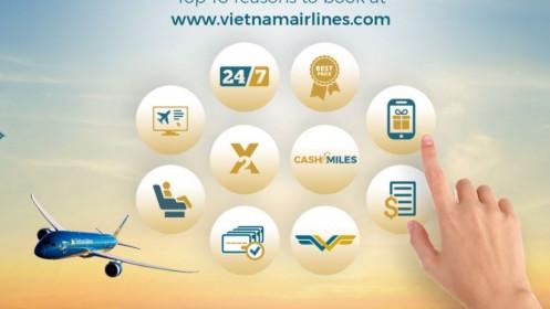 Vietnam Airlines là hãng hàng không có website đạt tiêu chuẩn  bảo mật dữ liệu cao nhất Việt Nam