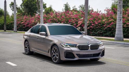 BMW 5 Series LCI 2021 giá từ 2,5 tỷ đồng có gì?