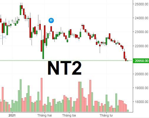 NT2: Lợi nhuận quý 1 giảm 36%, khoản phải thu ngắn hạn tăng gấp rưỡi
