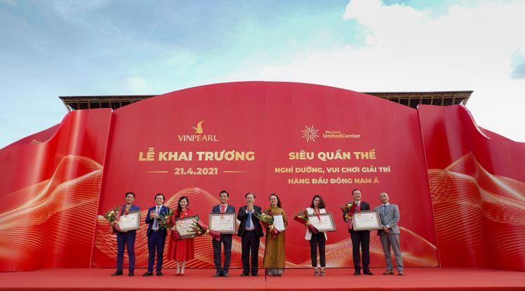 Vingroup khai trương siêu dự án Phú Quốc United Center