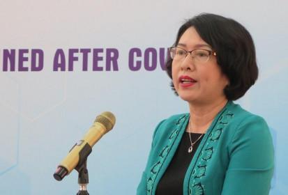 """Viện trưởng CIEM Trần Thị Hồng Minh: """"Tránh rủi ro cạn kiệt không gian chính sách"""""""