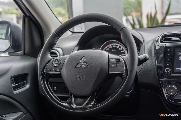Cận cảnh Mitsubishi Attrage 2021 giá từ 375 triệu tại Việt Nam, cạnh tranh với Hyundai Accent, Toyota Vios