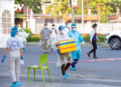 Campuchia lại xác lập kỷ lục mới về số ca mắc Covid-19 trong một ngày