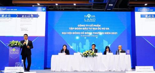 ĐHCĐ Novaland (NVL): Giai đoạn 2021-2023 lợi nhuận ước đạt 2 tỷ USD, tăng thêm 10.000 ha quỹ đất đến 2030