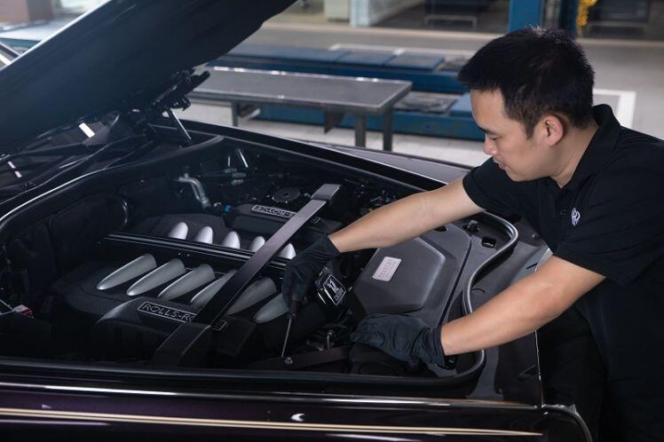 Rolls-Royce đã có xưởng dịch vụ tại Hà Nội