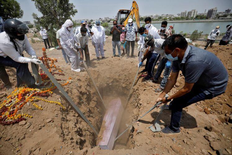 Số người chết vì Covid-19 tại Ấn Độ vẫn ở mức kinh hoàng
