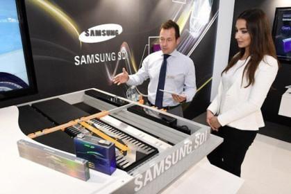 """Samsung SDI đạt lợi nhuận """"khủng"""" từ pin ô tô điện"""