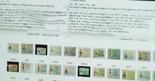 Chứng minh nhân dân 10.000 người Việt bị rao bán trên mạng