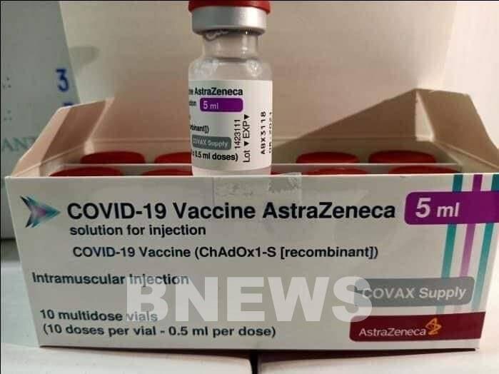 Hình ảnh gần 1,7 triệu liều vaccine phòng COVID-19 về tới Việt Nam