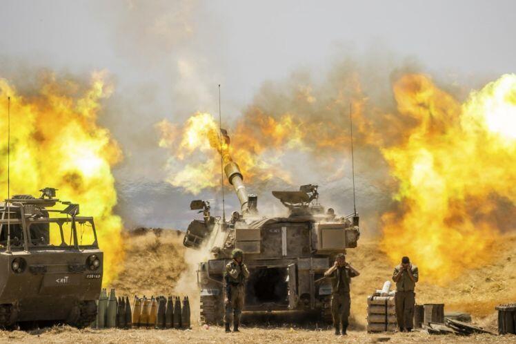 Khung cảnh tan hoang sau 1 tuần xung đột giữa Israel và Gaza