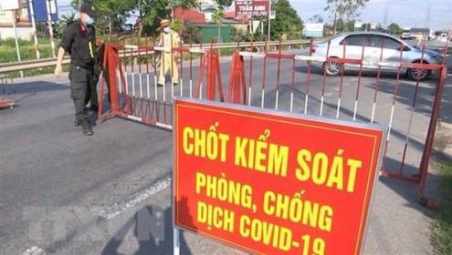 Bắc Giang cách ly xã hội thêm 3 huyện để phòng, chống dịch COVID-19
