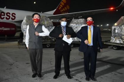Ấn Độ cảm ơn Việt Nam trợ giúp máy tạo oxy và máy trợ thở