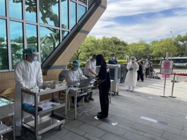 Ca COVID-19 tăng vọt, Đài Loan đề nghị Mỹ hỗ trợ vaccine