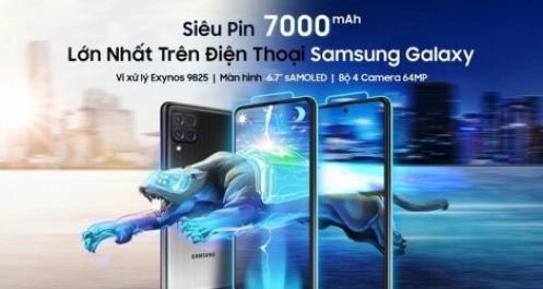 """Samsung ra mắt Galaxy M62, với """"siêu pin"""" 7.000mAh"""