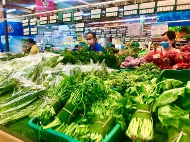 Giá thực phẩm ngày 25/5: Giá rau củ quả tiếp tục giảm nhẹ