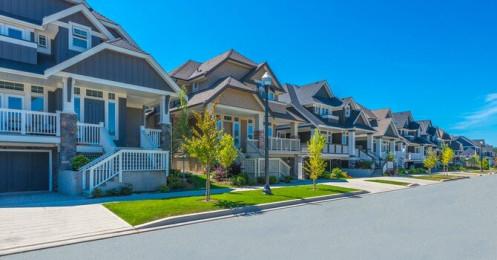 Giá nhà bán tại Mỹ tăng vọt trong năm qua