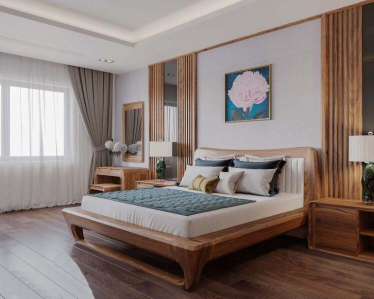 Ứng dụng của gỗ tự nhiên trong trang trí nội thất