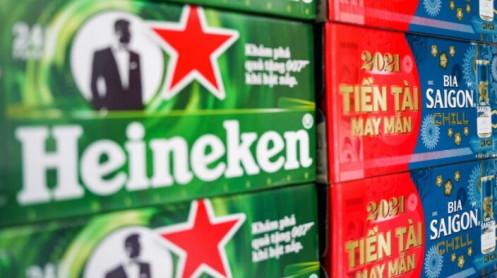 'Cuộc chiến vương quyền' ngành bia Sabeco - Heineken