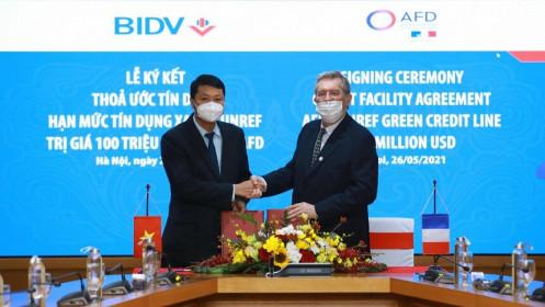 AFD cung cấp hạn mức 100 triệu USD cho BIDV
