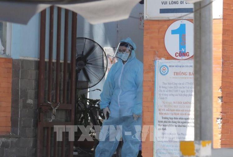 Khẩn cấp phong tỏa Bệnh viện quận Tân Phú, TP.HCM