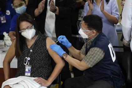 Philippines đứng thứ 9 Đông Nam Á về tỷ lệ tiêm chủng vaccine COVID-19