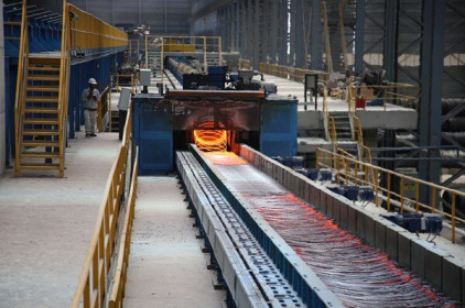 Hòa Phát sản xuất thép cuộn chất lượng cao làm đinh vít, thay thế nhập khẩu