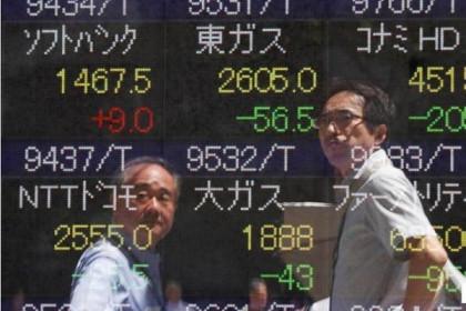 Chứng khoán châu Á giảm, cổ phiếu công nghệ 'hứng đòn'