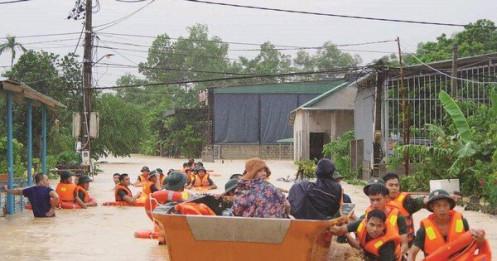 Việt Nam thiệt hại gần 40 nghìn tỷ đồng do thiên tai