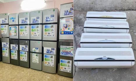 Chiêu lừa bán điều hòa, tủ lạnh 'thanh lý giá rẻ'