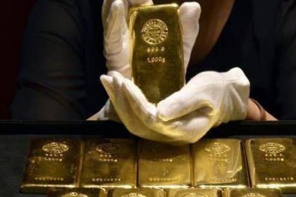 Giá vàng châu Á chiều 4/6 giảm xuống mức thấp nhất của hơn hai tuần qua