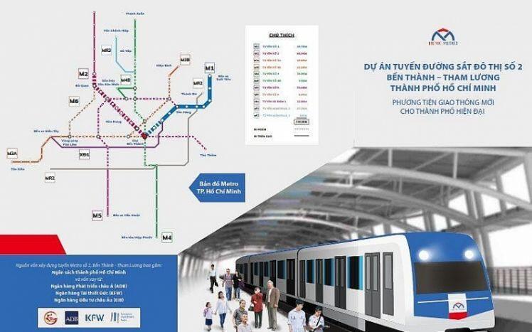 Thương thảo bất thành, TPHCM thay tư vấn tuyến metro số 2