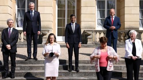 G7 đạt được thoả thuận lịch sử về thuế doanh nghiệp toàn cầu, quy định mức tối thiểu 15%