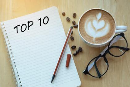 Top 10 cổ phiếu tăng/giảm mạnh nhất tuần: Nhóm cổ phiếu công ty chứng khoán khoe sắc