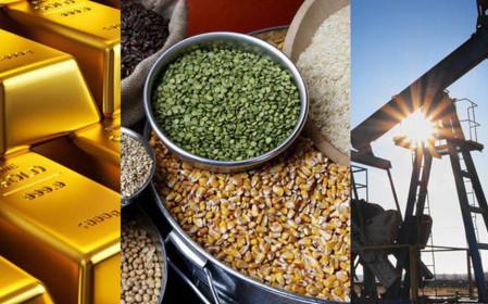 Thị trường hàng hóa tuần từ 28/5- 4/6: Dầu, sắt, thép, nông sản tăng giá, vàng giảm