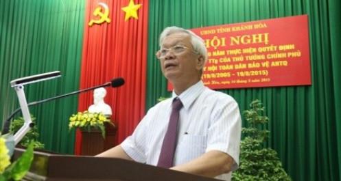 Nóng: Bắt giam nguyên Chủ tịch UBND tỉnh Khánh Hòa Nguyễn Chiến Thắng và Lê Đức Vinh