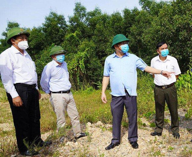 Đẩy nhanh tiến độ Dự án đường Hùng Vương kết nối Khu kinh tế Đông Nam Quảng Trị