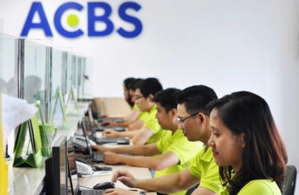 Cuộc đua tăng vốn của các công ty chứng khoán: ACB rót thêm 1.500 tỷ đồng vào ACBS