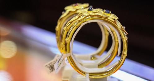 Đảo chiều, giá vàng tăng mạnh