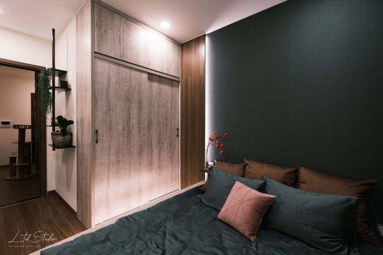 Không gian đậm chất 'thiền' trong căn hộ 60m2 cho gia chủ mệnh thủy