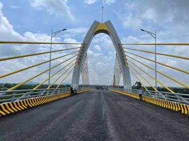 Cầu gần 400 tỉ đồng nối TP. Hải Phòng với Hải Dương sắp hoàn thành