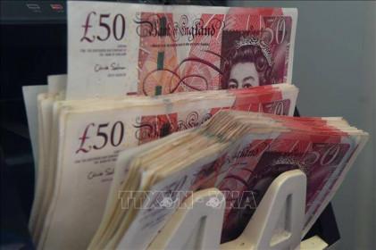 Đồng bảng Anh giảm xuống mức thấp nhất trong hơn 1 tháng