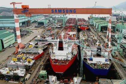 Cổ đông của Samsung Heavy Industries thông qua đề xuất giảm vốn