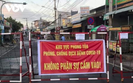 Đồng Nai phong tỏa khu vực 300 hộ dân liên quan ca nghi mắc Covid-19