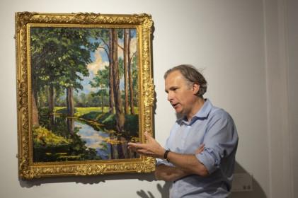 Tranh do cố Thủ tướng Anh vẽ bán giá 1,85 triệu USD