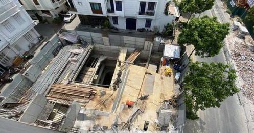 Hà Nội phải báo cáo căn cứ cấp phép nhà riêng lẻ 4 tầng hầm trước 25/6