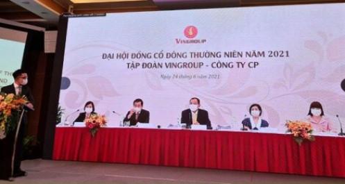 """ĐHĐCĐ 2021 Vingroup: Mục tiêu doanh thu 170.000 tỷ đồng nhờ """"kiềng ba chân"""" vững chãi"""