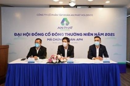 ĐHĐCĐ An Phát Holdings 2021: Thông qua kế hoạch doanh thu 12,000 tỷ đồng, đẩy nhanh tiến độ triển khai dự án KCN An Phát 1 và nhà máy nguyên liệu xanh