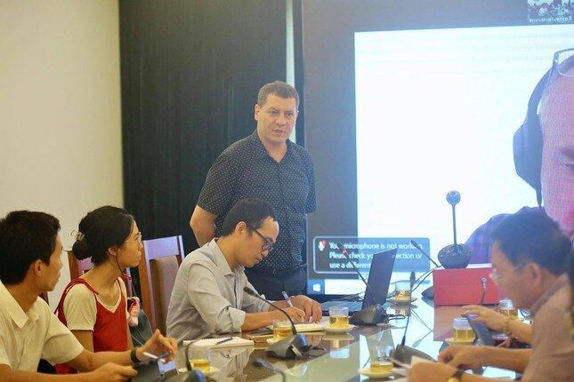 Chuyên gia Pháp hiến kế quy hoạch không gian xanh quận Hoàn Kiếm