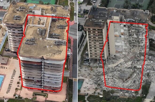 Vì sao chung cư 12 tầng tại Mỹ bất ngờ đổ sập?